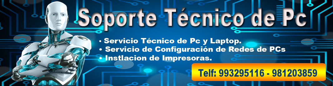 mantenimiento de pc a domicilio